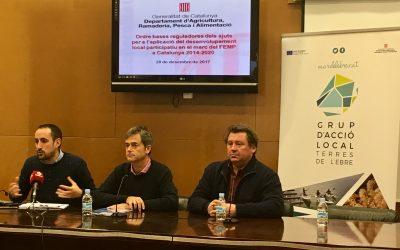 EL GALP MAR DE L'EBRE COMENÇA A REBRE PROJECTES PER ALS AJUTS DEL FEMP 2014-2020