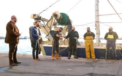 El GALP Mar de l'Ebre dona mascaretes al sector de la pesca i aqüicultura de les Terres de l'Ebre